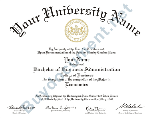 United States University Diploma/Degree