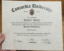 Concordia University certificate sample, buy fake degree in Canada