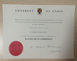 buy University of Otago fake degree, fake diploma from New Zealand