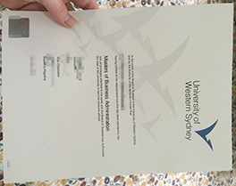 Western Sydney University fake diploma for sale