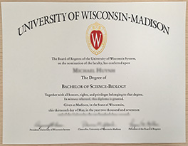 University of Wisconsin-Madison(UW Madison) diploma order