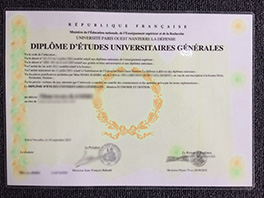 purchase Université Paris X fake diploma, buy fake degree in France