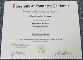 University of Southern California fake diploma for sale