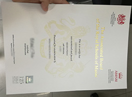 fake ABRSM certificate for sale
