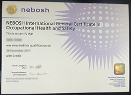 buy fake certificate from NEBOSH