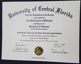 fake University of Central Florida diploma order