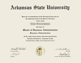 where to buy Arkansas State University fake diploma