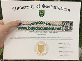 buy University of Saskatchewan fake diploma