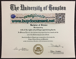 buy University of Houston fake diploma online