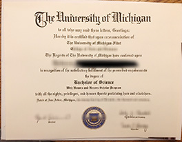 make University of Michigan fake diploma in USA