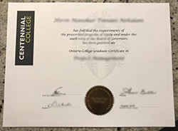 How to Get Fake Centennial College Diploma