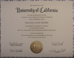 How to Create UC Riverside Fake Diploma&Transcript?