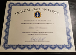 How to Make Fake McNeese State University Diploma