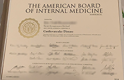 Buy American Board of Internal Medicine (ABIM) Fake Certificate