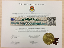 Where to Buy Fake University of Calgary Diploma Online?