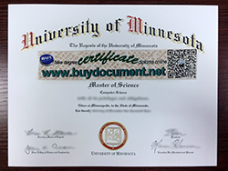How Much For University of Minnesota Diploma?