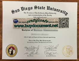 How to Buy SDSU Fake Degree Certificate, San Diego State University Diploma