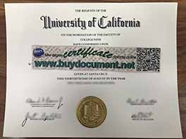 How safety to buy UC Santa Cruz (UCSC) diploma certificate