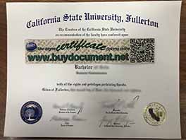 How to get your California State University, Fullerton diploma certificate replic