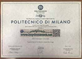 How to Buy Fake Politecnico di Milano Diploma Certificate