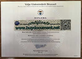 Buy Fake Vrije Universiteit Brussel Diploma Online, Fake VUB Degree