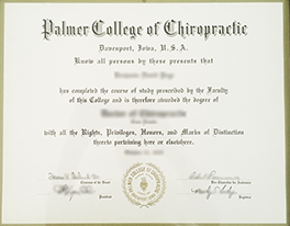 Who can Help Me Create A Fake Palmer College of Chiropractic Diploma?