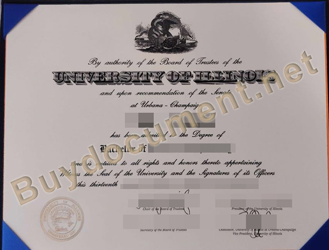 buy University of Illinois at Urbana-Champaign fake degree