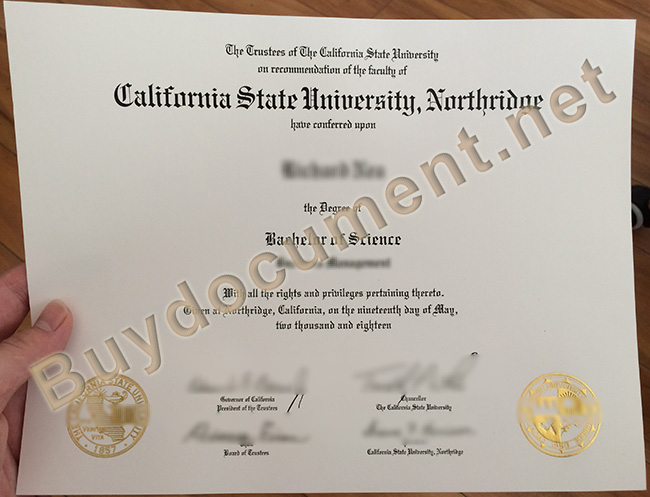 California state University, northridge degree, California state University, northridge diploma