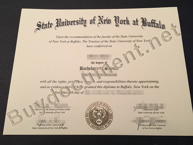 State University of New York at Buffalo diploma, State University of New York at Buffalo degree