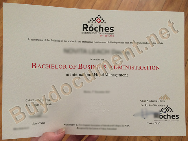 Les Roches Global Hospitality Education diploma, Les Roches Global Hospitality Education degree