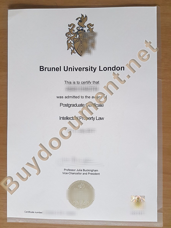 fake Brunel University London diploma, buy fake degree