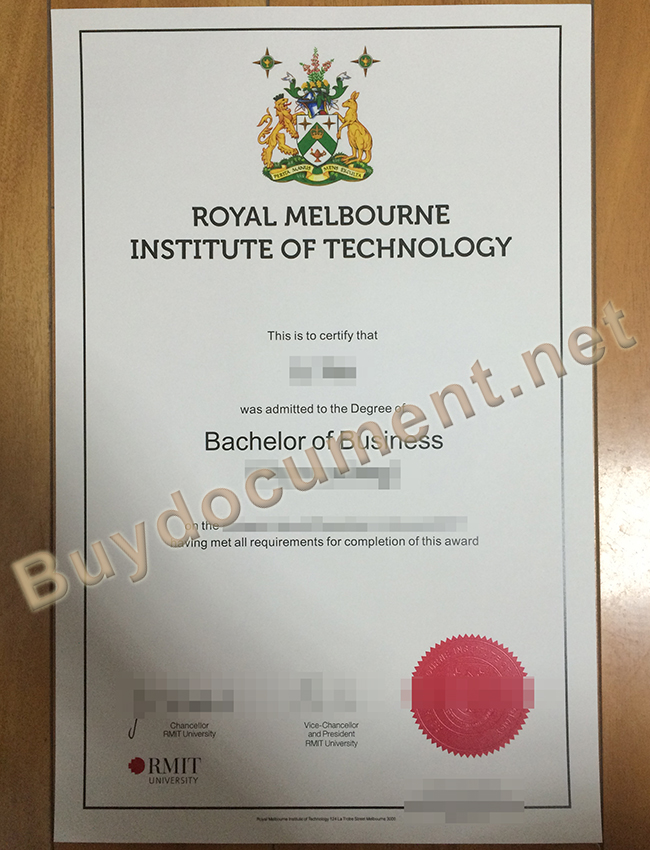 buy fake diploma, fake RMIT degree