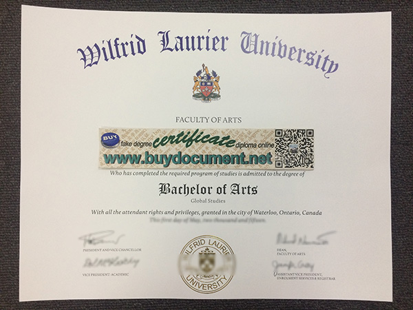 where to make wilfrid laurier university fake diploma