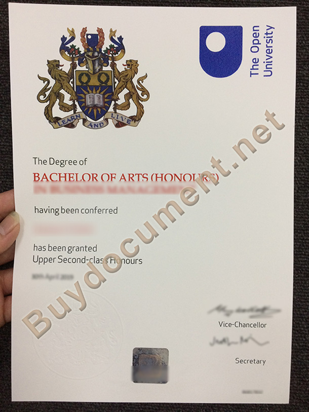 Buy Open University,UK Fake Diploma, buy fake degree