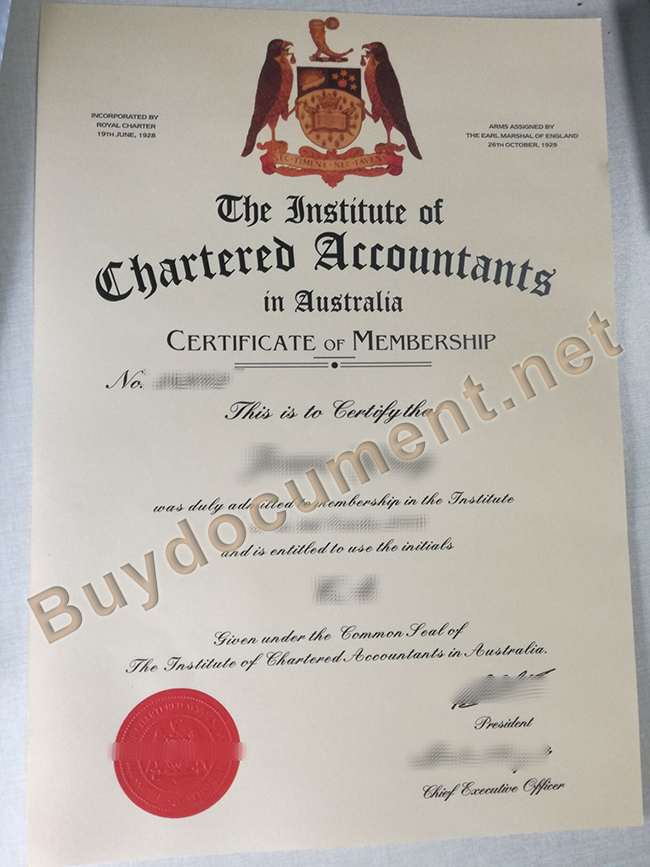 ICAA fake certificate, buy fake diploma
