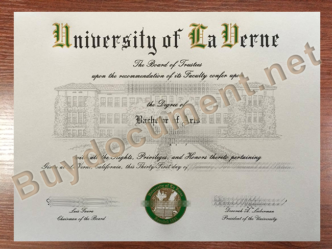 University of La Verne fake diploma, University of La Verne degree