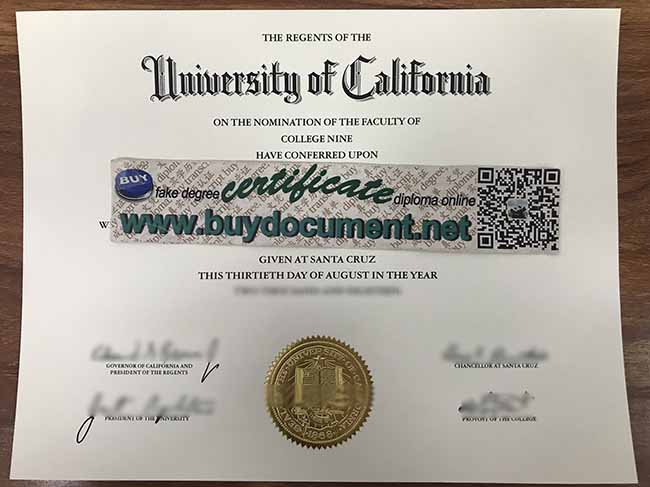 UCSC diploma, UCSC degree, fake UCSC certificate, buy fake diploma
