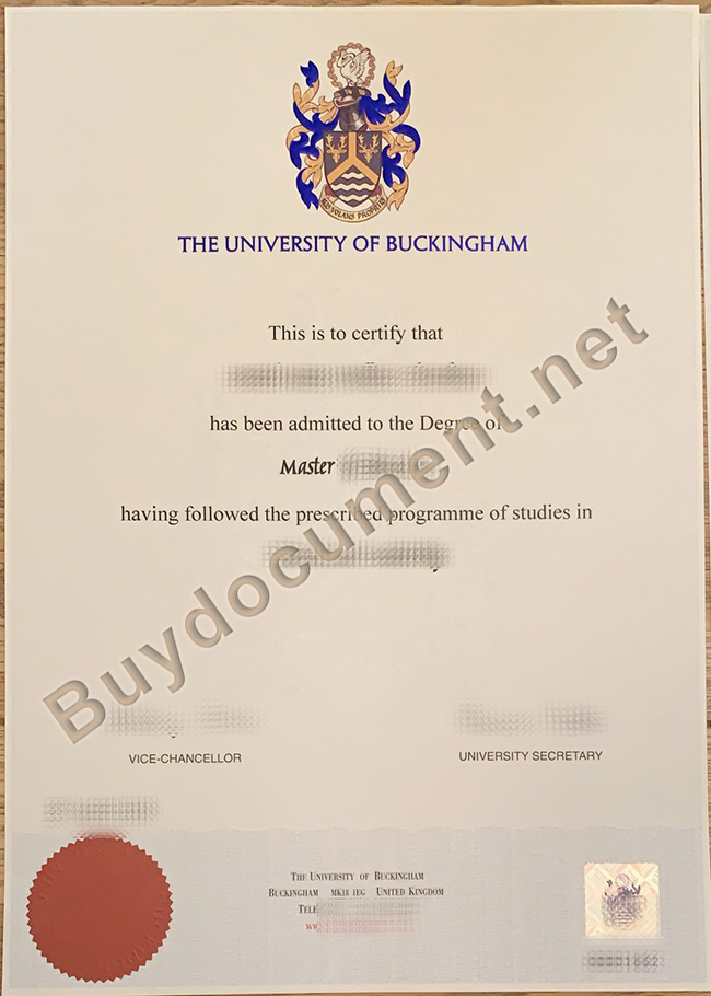 University of Buckingham diploma, University of Buckingham degree, fake University of Buckingham certificate