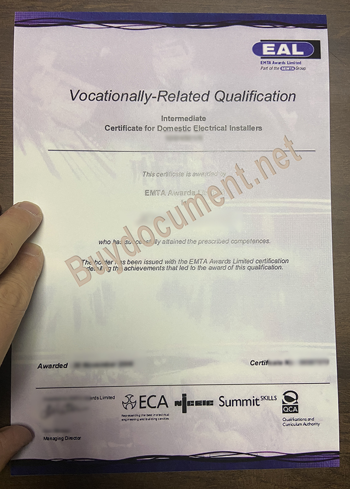 How much is the EAL certificate? CDR designer. Soft copy of The EMTA Awards Limited certificate. SEG GCSE,SEG certific,fake diploma,EAL certific,EMTA,buy diploma